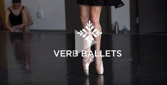Video still from Verb Ballets video