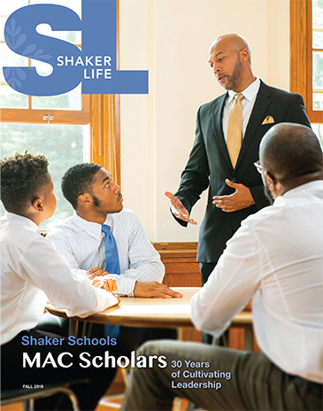 Cover of the fall 2019 issue of Shaker Life magazine