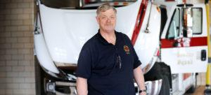 Chuck Bates, Mechanic, Shaker Heights Fire Dept.