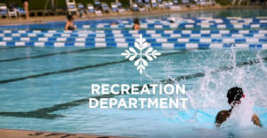 Opening screen of video about the Shaker Heights Recreation Department