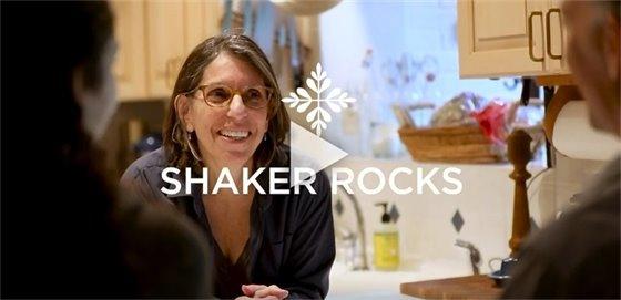Video screen of Shaker Rocks video