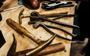 Tools used by Carlos Gomez of Gomez Show Repair