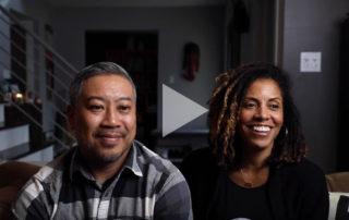 Video still of Zosimo and Anjua Maximo