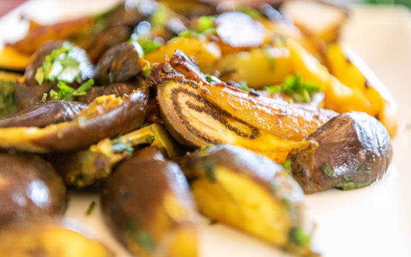 Eggplant dish by Cleveland Masala