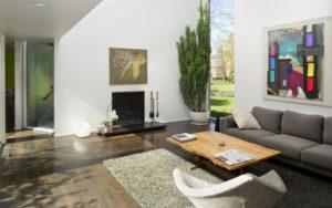 Living room of Hisaka House