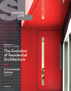 Cover of Shaker Life, Summer 2020