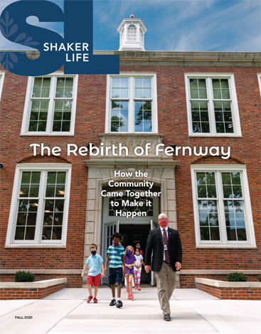 Cover of Fall 2020 Shaker Life