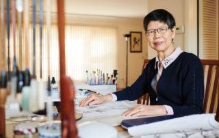 Artist Anna Hsu